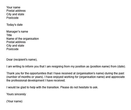 Proper Way To Write A Resignation Letter by What Is The Proper Way To Write A Letter Of Resignation Quora