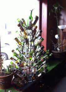 wine bottle christmas tree 171 the yule log 365