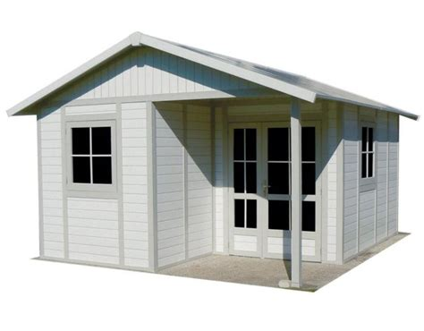 Plastic Roofing For Sheds by Grosfillex Deco 20b Pvc Plastic Shed