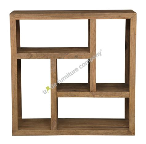 cube centered square bookcase wooden bookcases