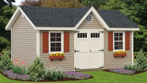 sheds garages custom buildings ct  built sheds