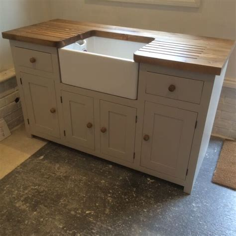 Freestanding Kitchen Sink Unit by Kitchen Sink Unit Free Standing Solid Pine With Belfast