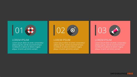 free ppt template design animated presentation agenda applied flat design free