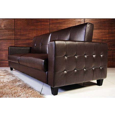 rome faux leather convertible sofa bed colors