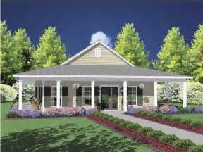 Wrap Around Porch Home Plans by One Story House With Wrap Around Porch My House
