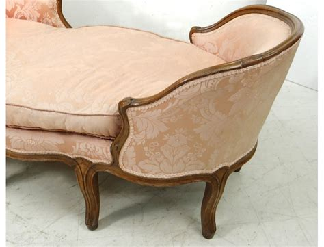 chaise bateau chaise longue louis xv duchesse en bateau noyer sculpt 233