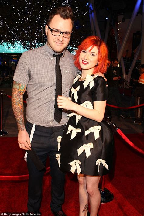 hayley williams wedding ring paramore s hayley williams and chad gilbert of new found