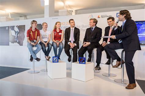 aachen deutsche bank chio aachen deutsche sporthilfe und deutsche bank wollen