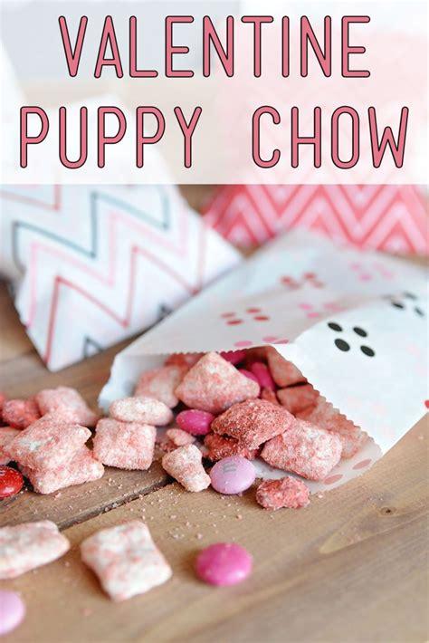 valentines puppy chow puppy chow