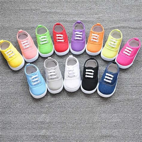 new boys fashion canvas breathable sneakers children