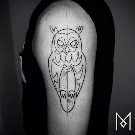 line tattoo single line tattoos by iranian german artist great inspire