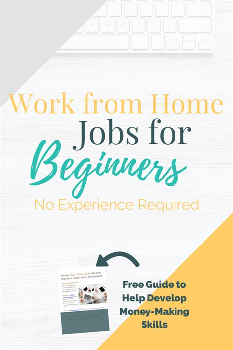 Online Job Working From Home - no experience work from home jobs for beginners