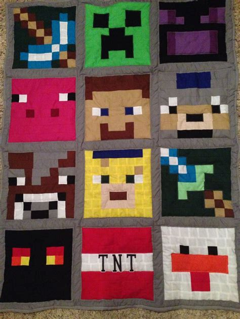 Minecraft Quilts by 58 Best Images About Minecraft On For D