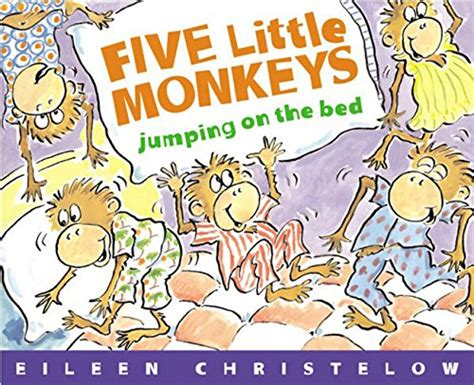 five little monkeys jumping on the bed book five little monkeys jumping on the bed a five little