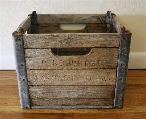 antique woodwork antique wood and metal crates picked vintage