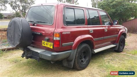 how petrol cars work 1995 toyota land cruiser parking system toyota land cruiser for sale in australia