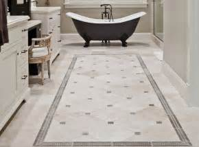 vintage bathroom decor ideas with simple floor tile inspiring design