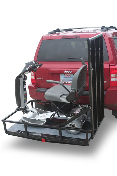 power chair hitch carrier rs aging in my place power chair hitch carriers