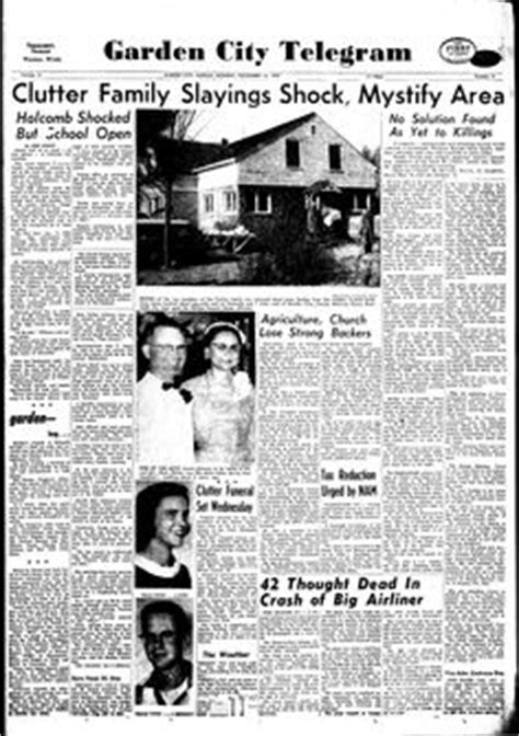 Garden City Ny Newspapers The Article On The Clutter Family Murders In The New York