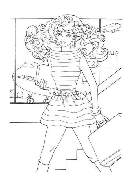 barbie soccer coloring pages coloring page barbie picgifs com