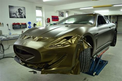Folie Gold Auto by Folierung Auto Folieren Car Wrapping Folien Experte