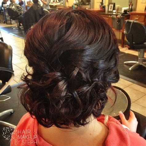 prom hairstyles for brunette hair brunette updo hair and makeup by steph pinterest