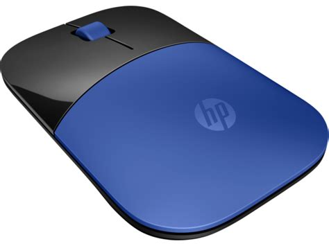 Mouse Hp hp z3700 blue wireless mouse hp 174 official store