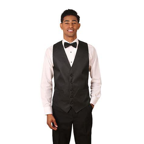 black vest pattern men s black pincheck pattern jacquard vest