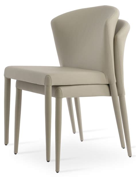 capri stackable dining chair sohoconcept dining chairs
