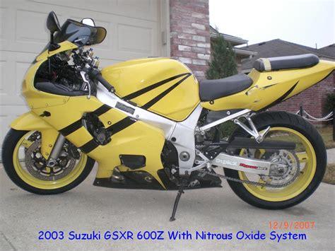 Suzuki Gsxr 600 0 60 2003 Suzuki Gsx R 600 1 8 Mile Drag Racing Timeslip 0 60