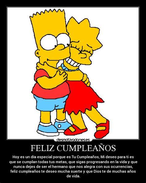 imagenes de cumpleaños los simpson feliz cumplea 209 os desmotivaciones