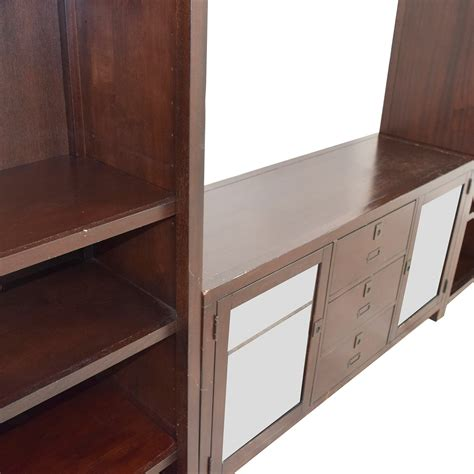 pottery barn media console rhys 90 off pottery barn pottery barn rhys media console