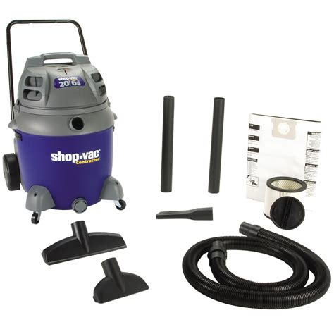 Shoo Gallon shop shop vac 20 gallon 6 5 peak hp shop vacuum at lowes