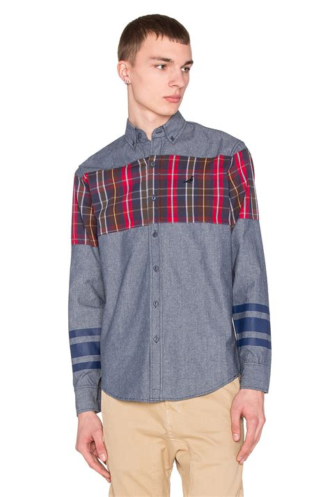Fashion Find Staple Sweater by Staple Stormking Button Up In Blue For Lyst