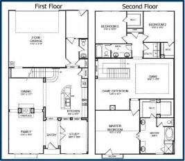2 story floor plan the parkway luxury condominiums