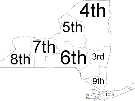 Ny Judicial Search File New York Judicial Districts Png Wikimedia Commons