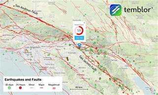southern california fault lines map new study finds los angeles and san diego are at risk from
