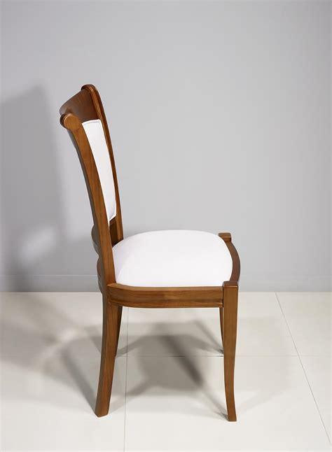 chaise en chêne massif chaise ine en merisier massif de style louis philippe