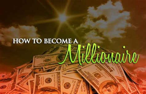 Can You Become A Millionaire With An Mba by How To Become A Millionaire