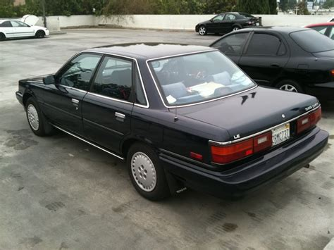 1989 Toyota Camry 1989 Toyota Camry Information And Photos Momentcar