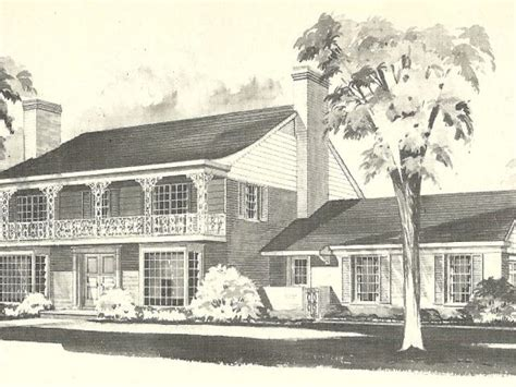American Colonial House Plans by Colonial America Houses Early American Colonial House
