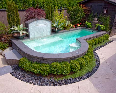 inground pool designs 24 small swimming pool designs decorating ideas design