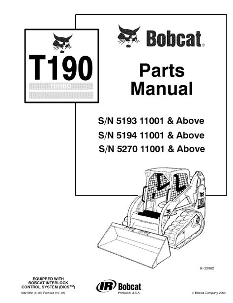 bobcat t190 wiring diagram wiring diagram and schematic