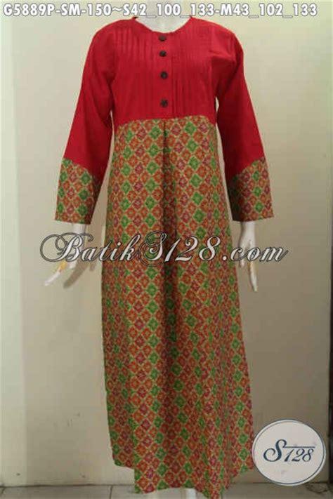desain gamis wanita baju gamis modern desain terkini nan mewah busana batik