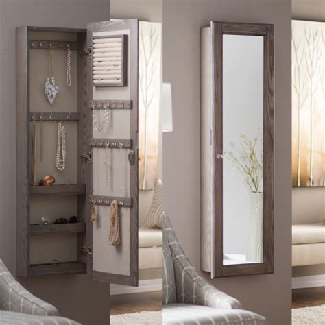 white wall mounted jewelry armoire compact wall mounted jewelry armoire wall mount jewelry
