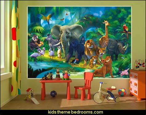 jungle nursery wall decor decorating theme bedrooms maries manor jungle baby