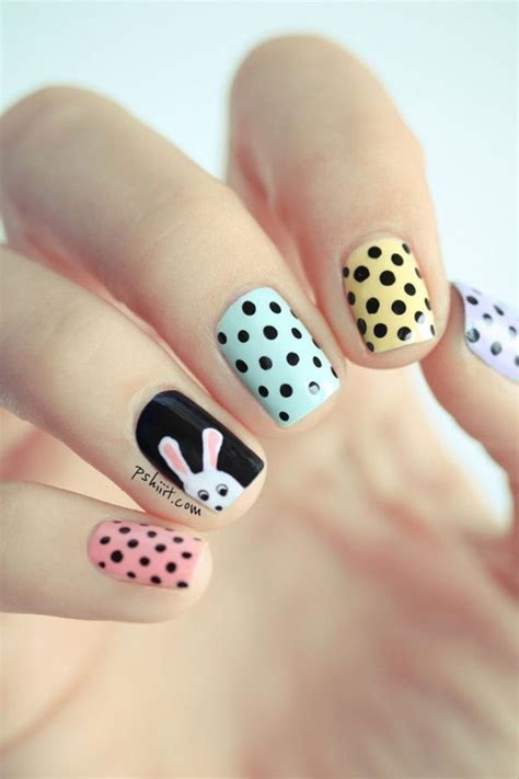 easter nail designs 40 insanely cute easter nail designs for your inspiration