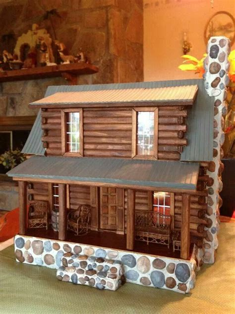 Log Cabin Dollhouse Kit by 25 Best Ideas About Cabin Dollhouse On Doll