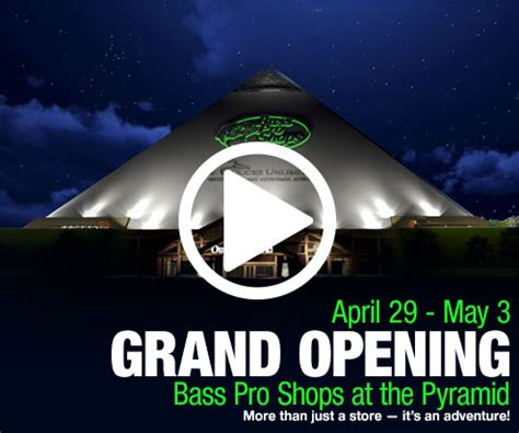 bass pro shop donation request pyramid grand opening presented by bass pro shops