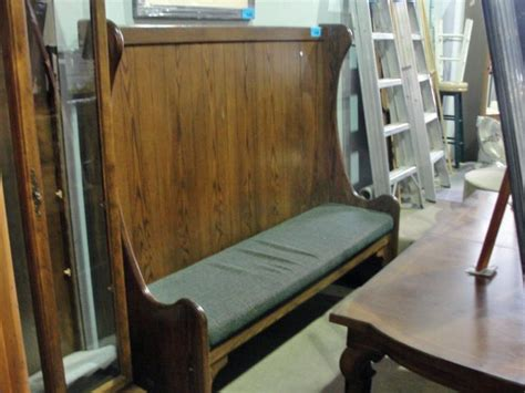 high back bench seating oak high back bench seat
